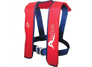 GILET GONFLABLE ADULTE ALPHA AUTO 150N