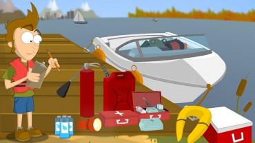Matériel de sécurité obligatoire d'un bateau